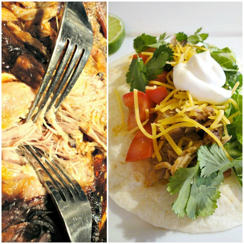 Spicy Dr. Pepper Pulled Pork Tacos